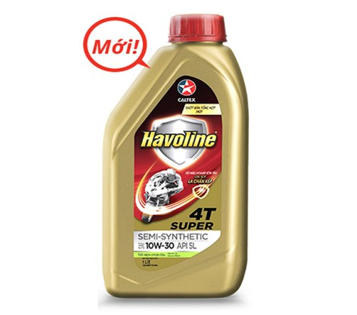 Havoline Super matic 4T Semi - Synthetie 1L